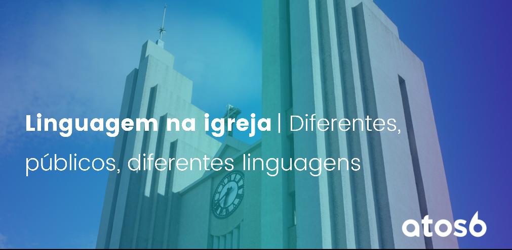 linguagem na igreja